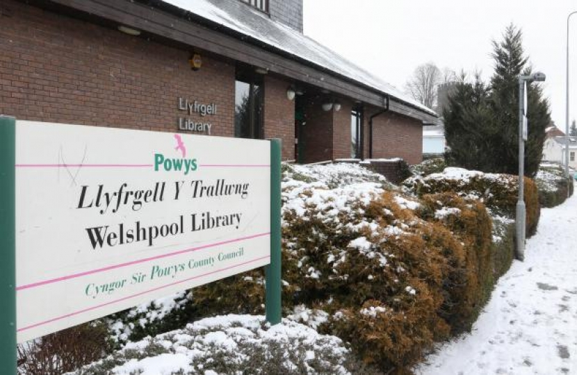 Welshpool Library